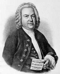 Johann Sebastian Bach, Lithografie von Gustav Schlick 1840, von Gustav Schlick nach einem Gemälde von Elias Gottlob Haußmann, 1840. © AKG-Images, Berlin