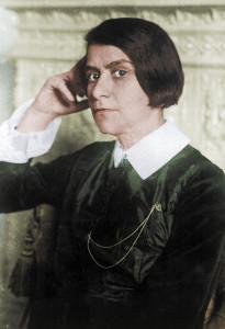 Else Lasker-Schüler im Jahr 1932