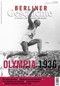 Cover Berliner Geschichte - Olympia