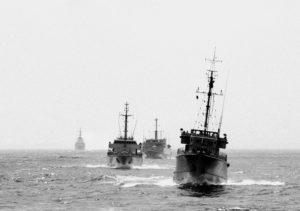 Von 1993 bis 1996 sind deutsche Kriegsschiffe an der Operation SHARP GUARD beteiligt, der Überwachung des Embargos gegen Serbien und Montenegro in der Adria. © Deutscher Marinebund, Laboe